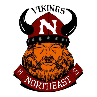 Northeast High School Viking Logo